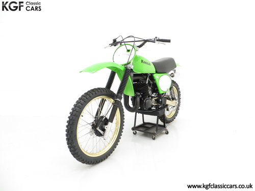 One of 1717, a Legendary 1978 Works Kawasaki KX250-A4 SOLD (picture 2 of 6)
