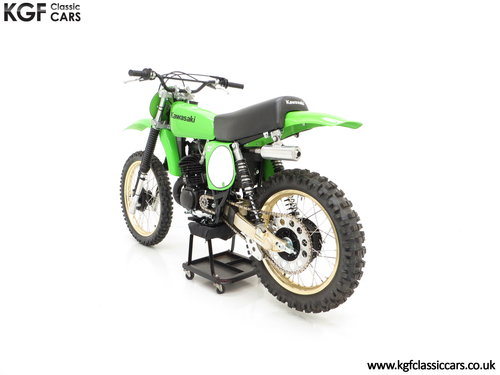 One of 1717, a Legendary 1978 Works Kawasaki KX250-A4 SOLD (picture 4 of 6)