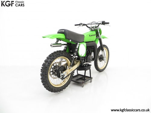 One of 1717, a Legendary 1978 Works Kawasaki KX250-A4 SOLD (picture 5 of 6)