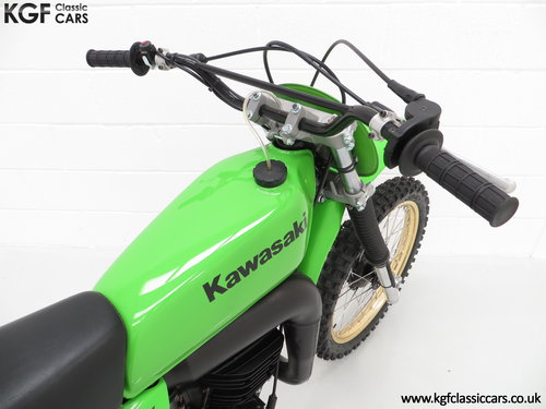 One of 1717, a Legendary 1978 Works Kawasaki KX250-A4 SOLD (picture 6 of 6)