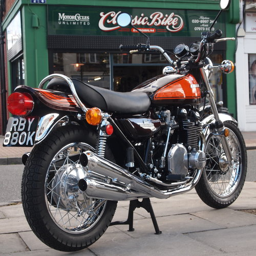 1972 Kawasaki Z1 900 Super Rare Early Z1 (  NUMBER 212  ). For Sale (picture 1 of 6)