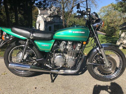 1978 Z650B2 Original bike SOLD (picture 1 of 6)
