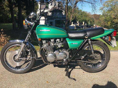 1978 Z650B2 Original bike SOLD (picture 2 of 6)
