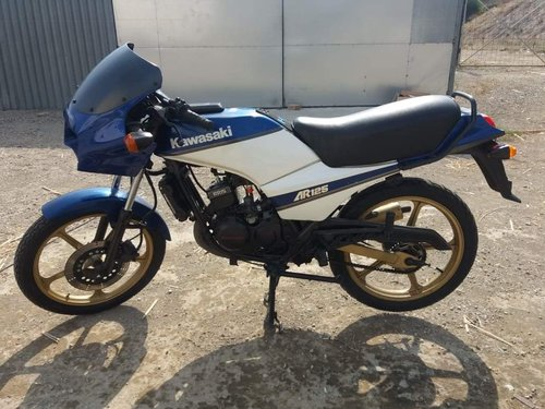 1983 Kawasaki AR125 early 80's For Sale (picture 1 of 6)