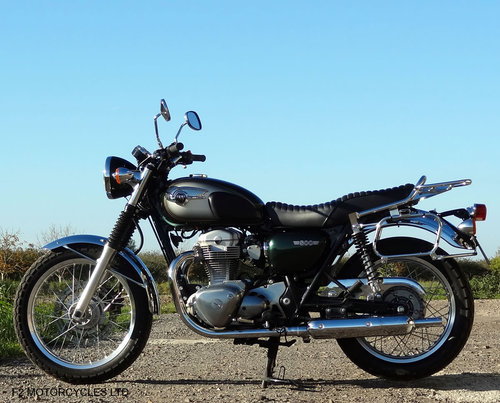 2012 Kawasaki W800, 1 Owner, perfect, low mileage, MOTed For Sale (picture 2 of 6)