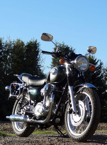 2012 Kawasaki W800, 1 Owner, perfect, low mileage, MOTed For Sale (picture 5 of 6)