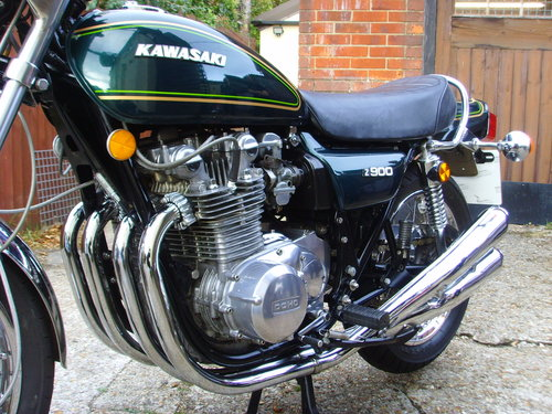 Kawasaki Z900A4 1976 - Stunning UK Bike For Sale (picture 3 of 6)