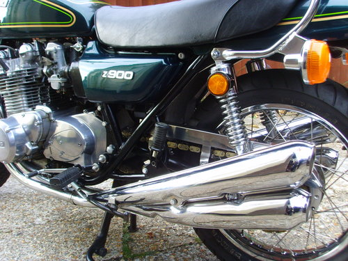 Kawasaki Z900A4 1976 - Stunning UK Bike For Sale (picture 6 of 6)