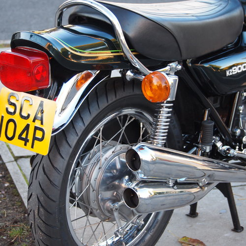 1976 Z900 A4 Classic, Ripe And Ready To Ride Away. For Sale (picture 3 of 6)