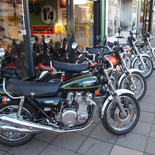 1976 Z900 A4 Classic, Ripe And Ready To Ride Away. For Sale (picture 4 of 6)