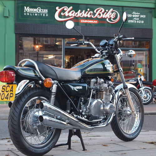 1976 Z900 A4 Classic, Ripe And Ready To Ride Away. For Sale (picture 6 of 6)