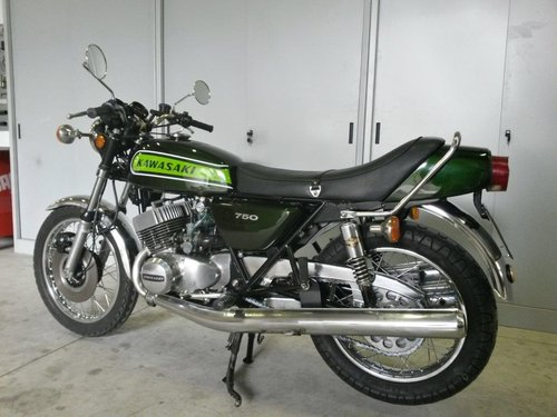 1974 Kawasaki Mach IV 750  For Sale (picture 3 of 6)