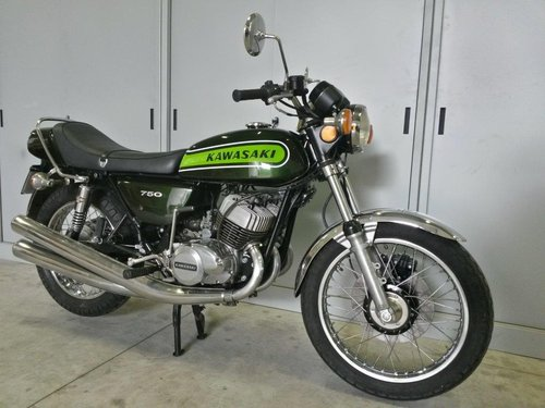 1974 Kawasaki Mach IV 750  For Sale (picture 4 of 6)
