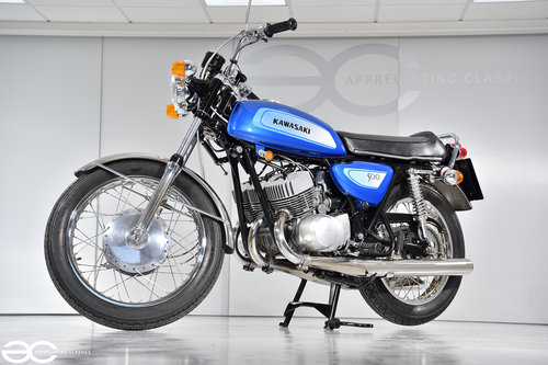 1971 A Beautifully Restored Kawasaki H1-A - over £17k in receipts SOLD (picture 2 of 6)