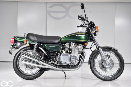 1976 A Beautiful Kawasaki Z900 A4 - 15K Miles - Show Ready SOLD (picture 1 of 6)