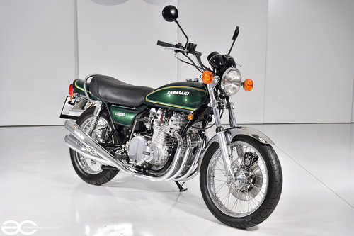 1976 A Beautiful Kawasaki Z900 A4 - 15K Miles - Show Ready For Sale (picture 2 of 6)