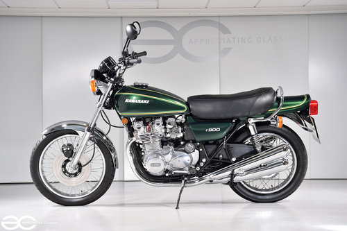 1976 A Beautiful Kawasaki Z900 A4 - 15K Miles - Show Ready SOLD (picture 3 of 6)