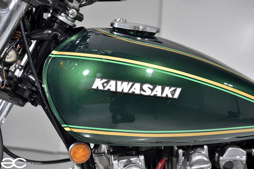1976 A Beautiful Kawasaki Z900 A4 - 15K Miles - Show Ready For Sale (picture 4 of 6)