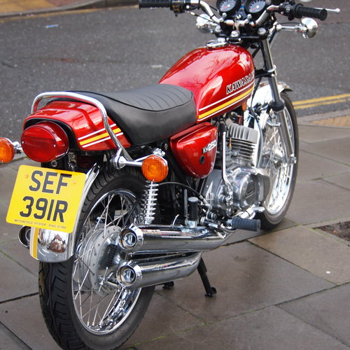 1977 KH250B Triple, RESERVED FOR PATRICK. SOLD (picture 4 of 6)