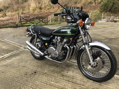 Kawasaki z900 1976 full restoration For Sale (picture 4 of 6)
