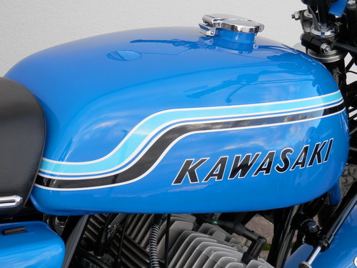 1972 Kawasaki 750 H2 Mach IV nut and bolt restored For Sale (picture 2 of 6)