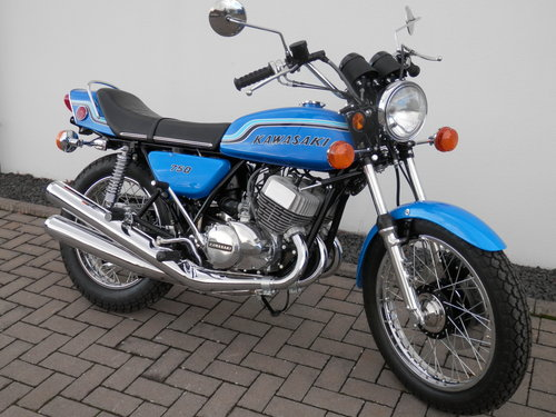 1972 Kawasaki 750 H2 Mach IV nut and bolt restored For Sale (picture 5 of 6)