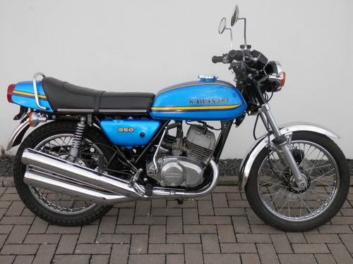 1973 Kawasaki 350 S2 A Mach II  european model 3274 produced For Sale (picture 1 of 6)