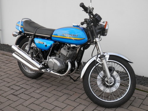 1973 Kawasaki 350 S2 A Mach II  european model 3274 produced For Sale (picture 5 of 6)