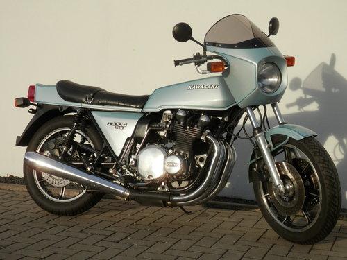 1978 Kawasaki Z1000 Z1R extremly rare original bike For Sale (picture 1 of 6)