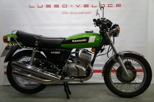 1980 Kawasaki KH 250 UK bike 9224 Miles  For Sale (picture 1 of 6)