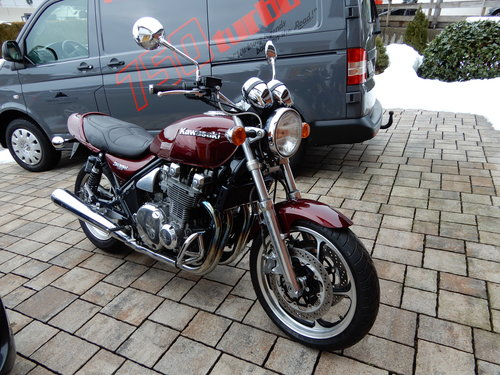 1992 Kawasaki Zephyr 1100 Excellent original state 12K miles only SOLD (picture 1 of 6)