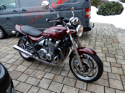 1992 Kawasaki Zephyr 1100 Excellent original state 12K miles only SOLD (picture 5 of 6)