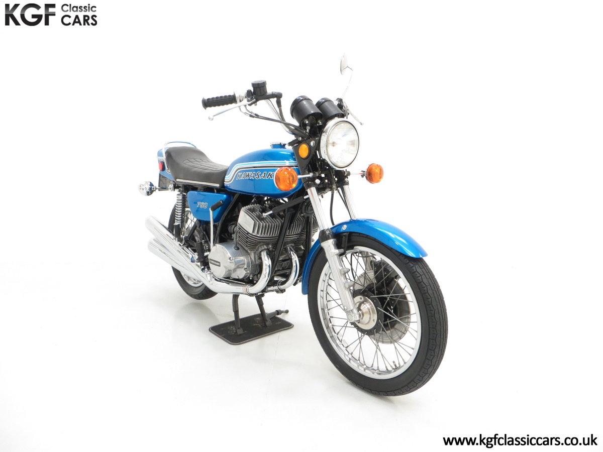 1972 An Early Magazine Featured Kawasaki 750 Mach IV H2 Triple SOLD (picture 1 of 6)
