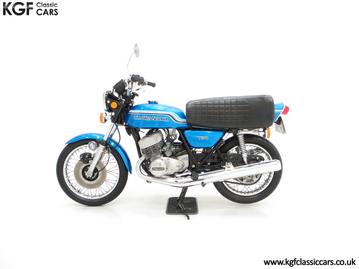 1972 An Early Magazine Featured Kawasaki 750 Mach IV H2 Triple SOLD (picture 3 of 6)