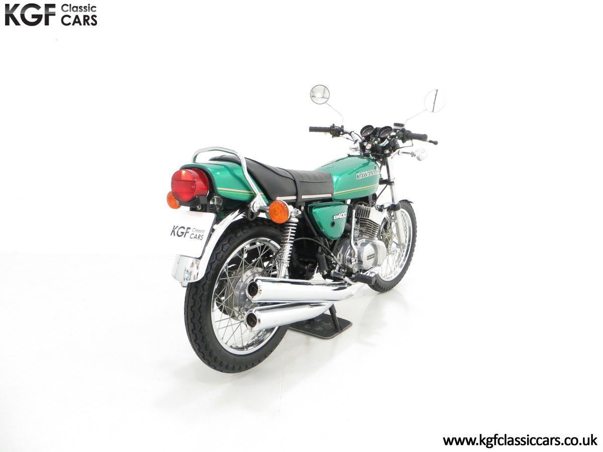 1978 An Unrepeatable Kawasaki KH400-A4 Triple with Only 348 Miles SOLD (picture 5 of 6)