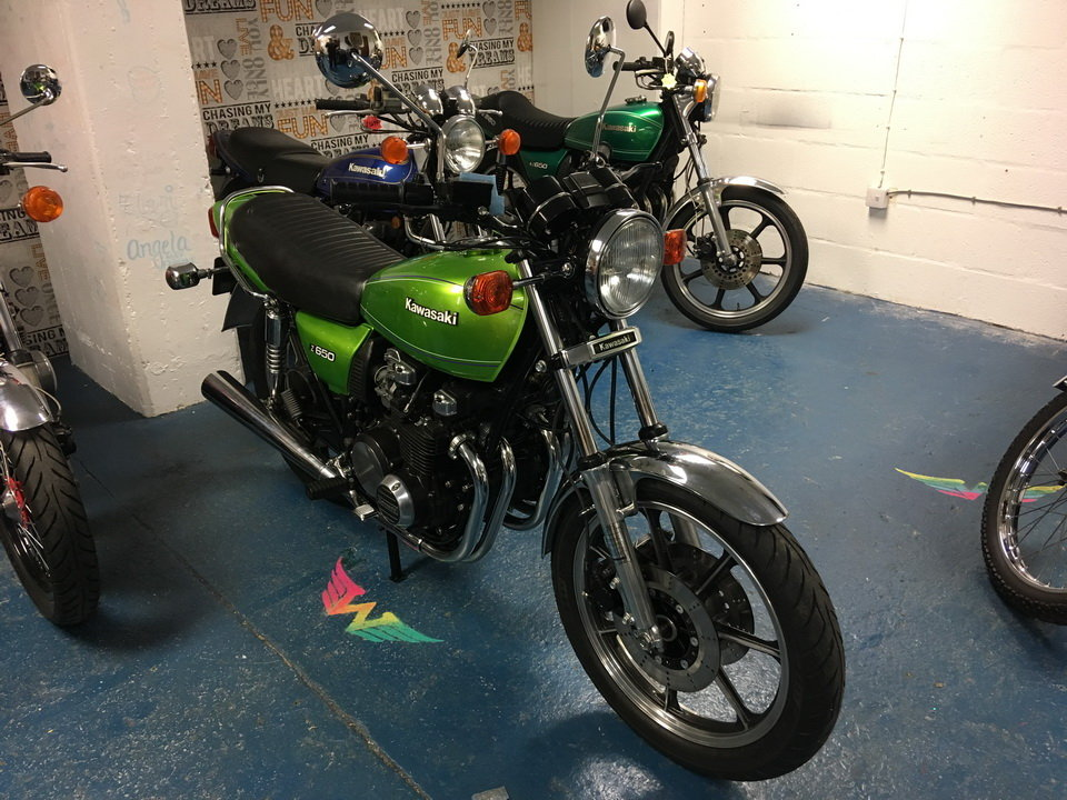 1981 KAWASAKI Z650 FULLY RESTORED  For Sale (picture 1 of 6)