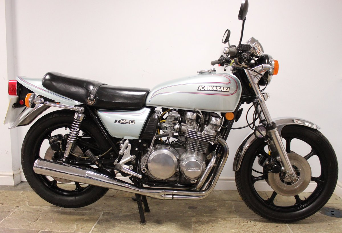 1978 Kawasaki Z650 C Presented in super condition, SOLD (picture 1 of 6)