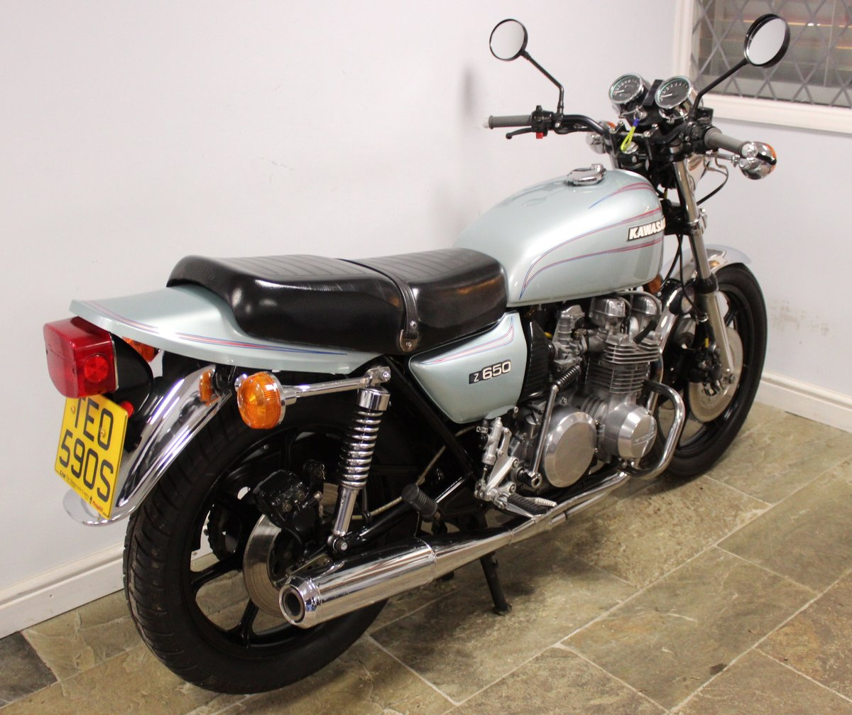 1978 Kawasaki Z650 C Presented in super condition, SOLD (picture 4 of 6)