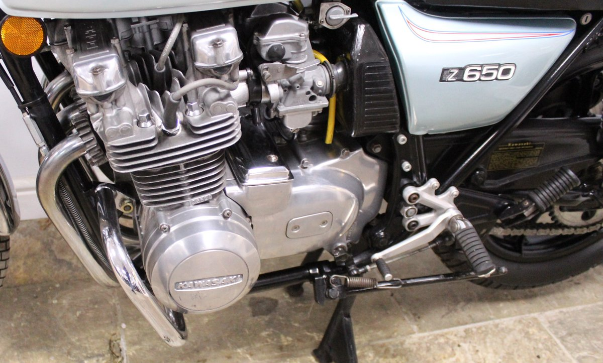 1978 Kawasaki Z650 C Presented in super condition, SOLD (picture 5 of 6)