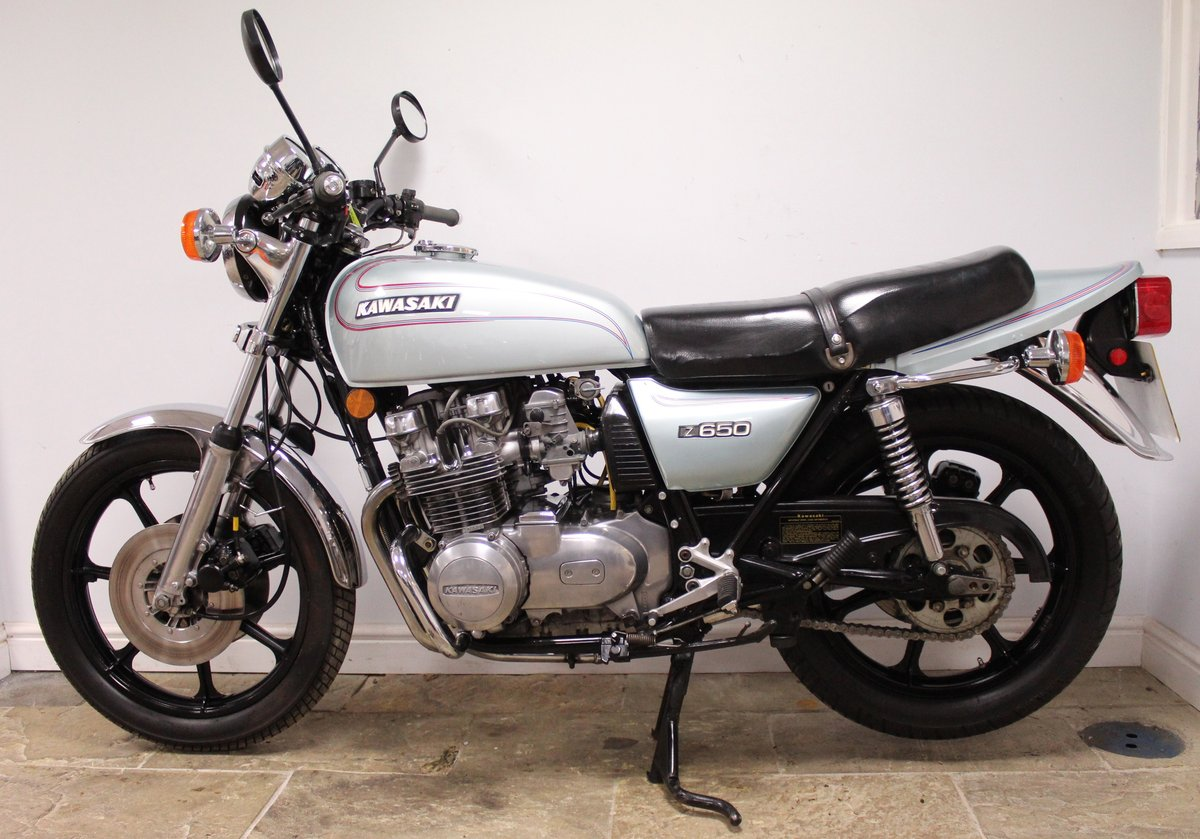 1978 Kawasaki Z650 C Presented in super condition, SOLD (picture 6 of 6)