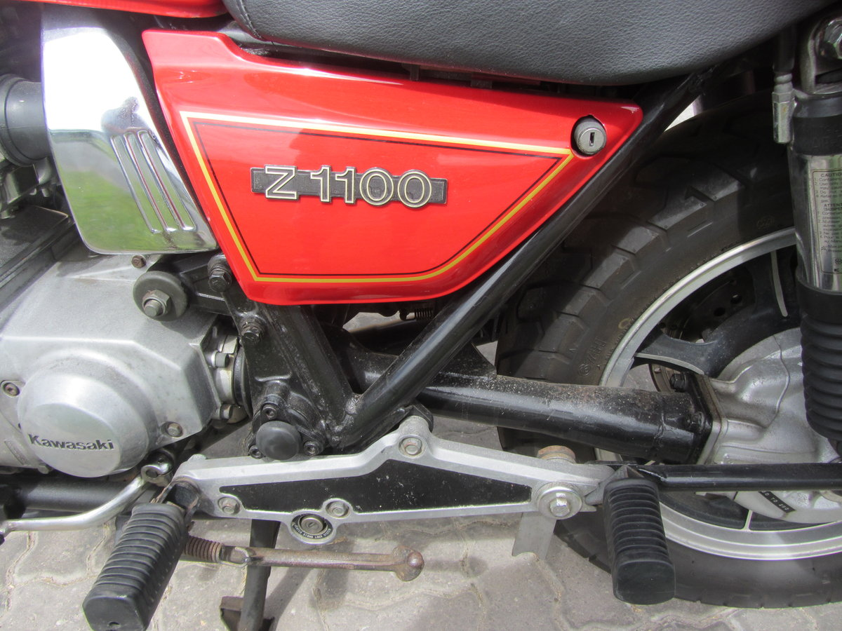 1980 Z1100 Touring or Standard For Sale (picture 5 of 6)
