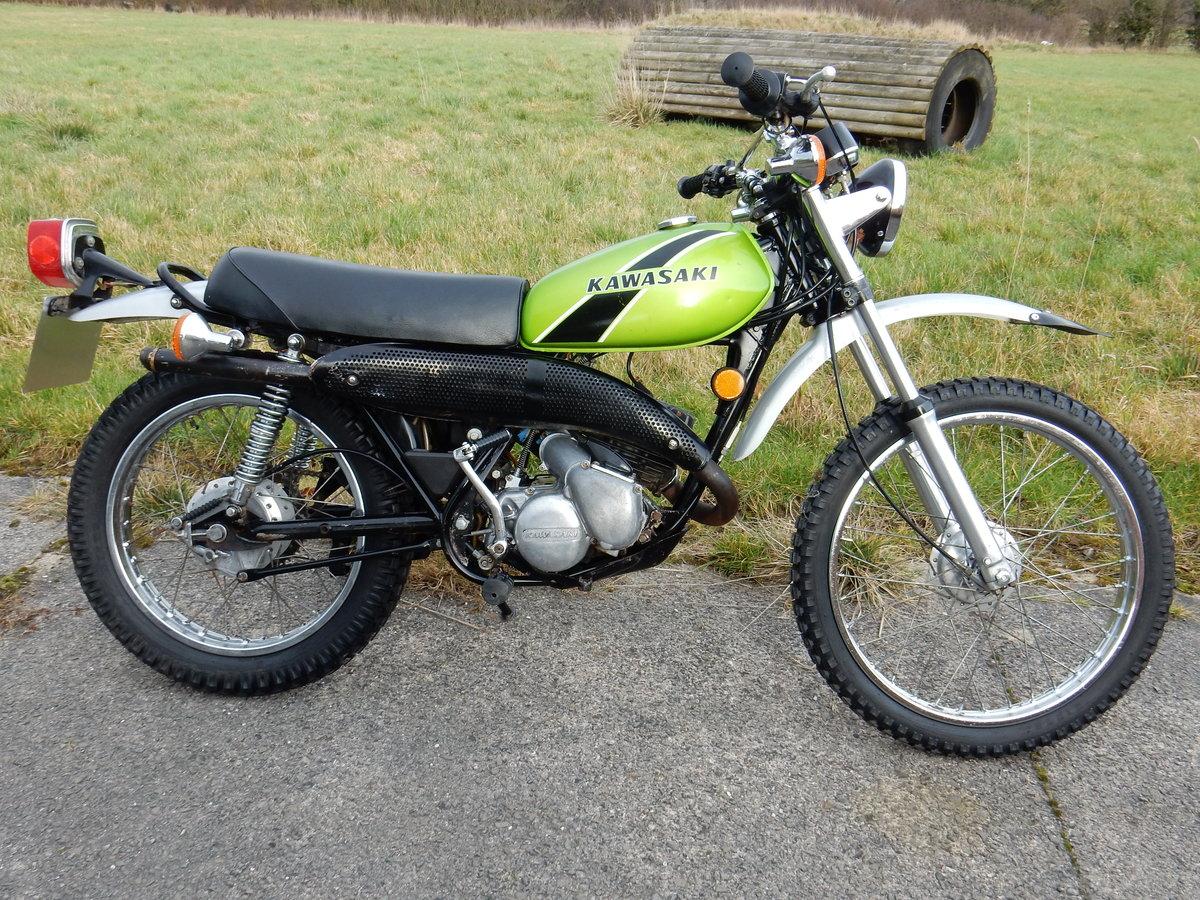 Kawasaki KS125  1974  124cc For Sale (picture 1 of 2)