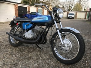 1971 Kawasaki H1A running restoration project For Sale