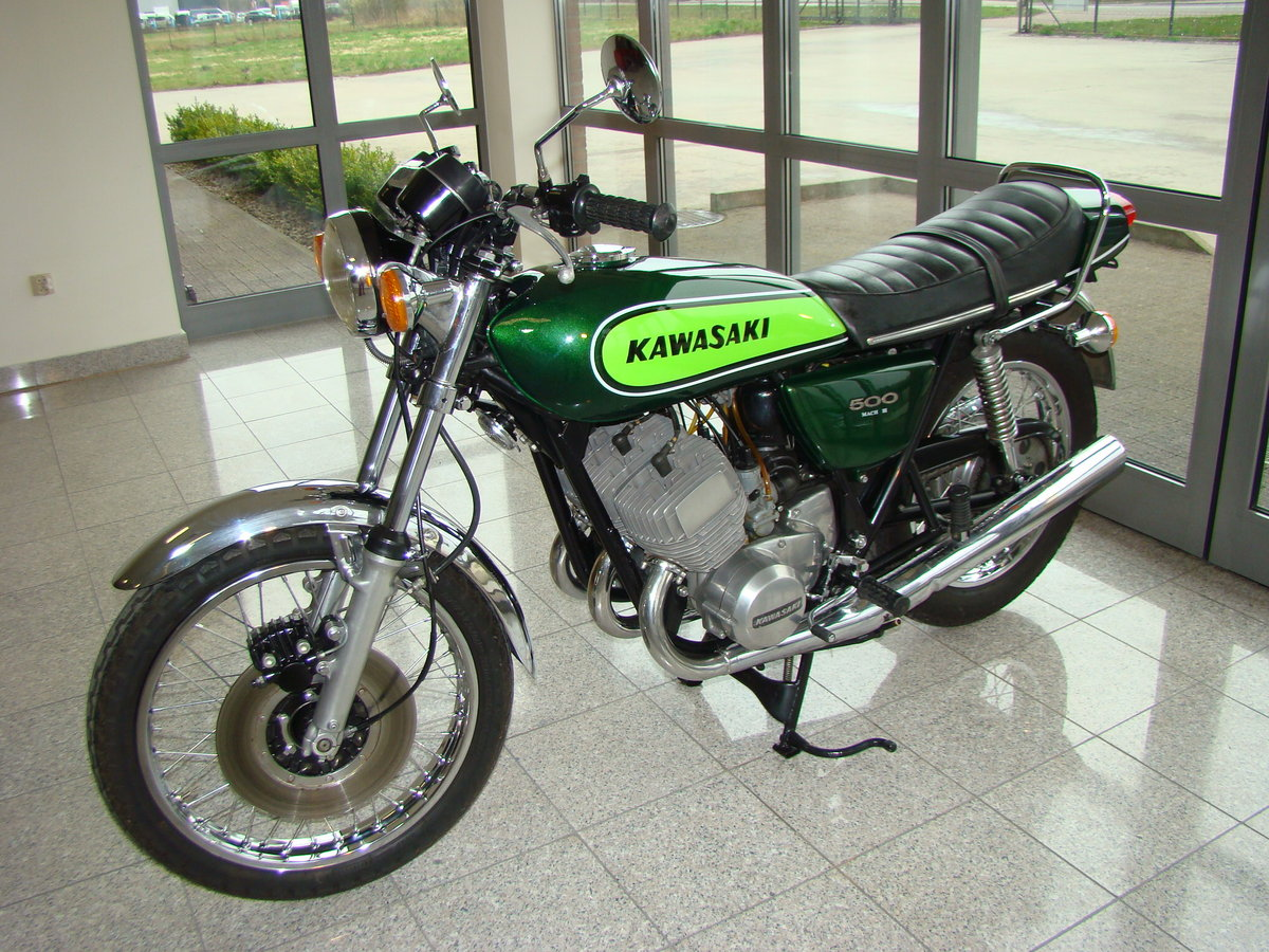 KAWASAKI H1 500 D Mach 3 1973 VIDEO !! For Sale (picture 1 of 6)