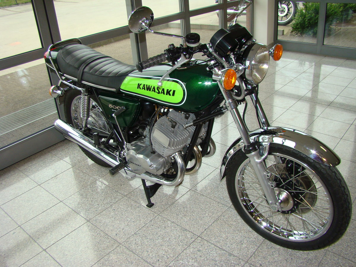 KAWASAKI H1 500 D Mach 3 1973 VIDEO !! For Sale (picture 2 of 6)