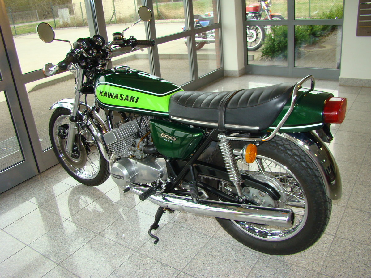 KAWASAKI H1 500 D Mach 3 1973 VIDEO !! For Sale (picture 3 of 6)