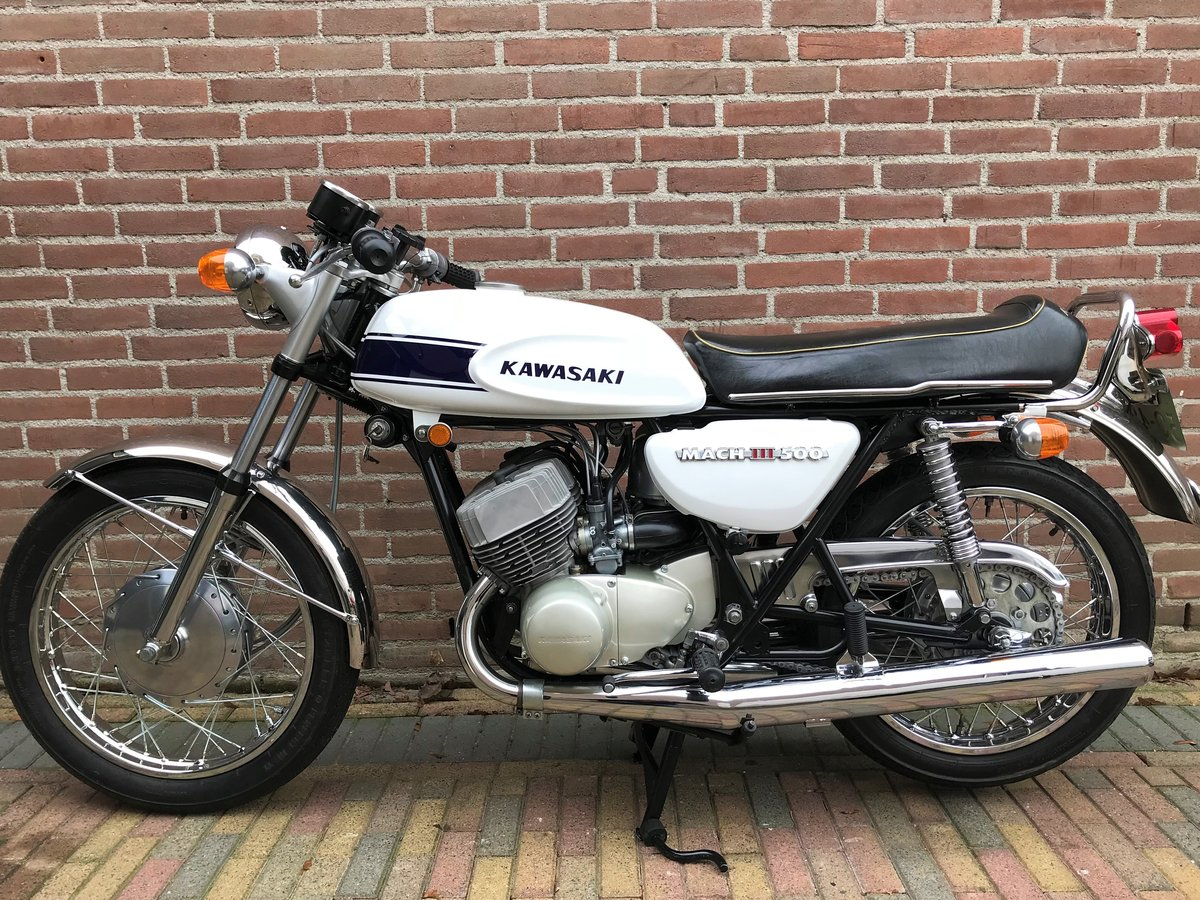 1970 Kawasaki Mach III  H1 SOLD (picture 2 of 6)