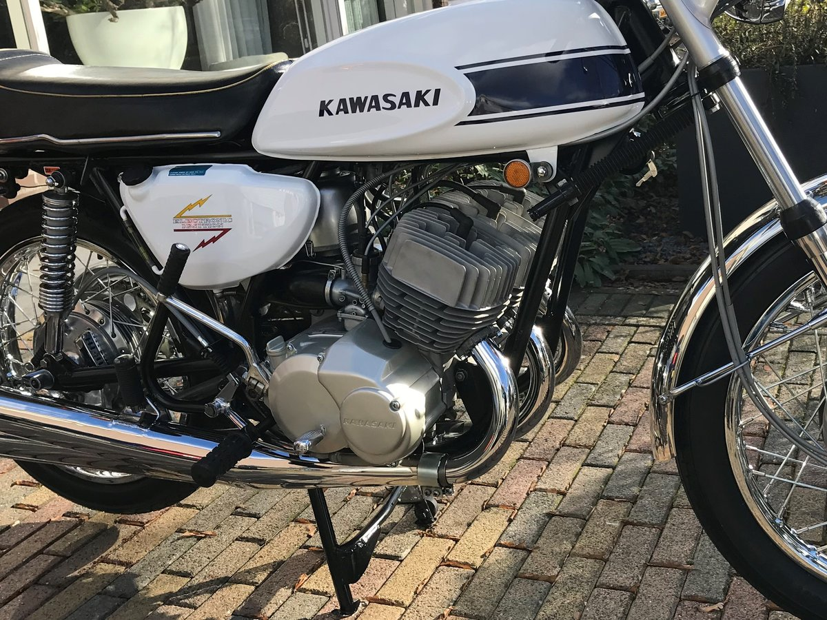 1970 Kawasaki Mach III  H1 SOLD (picture 6 of 6)
