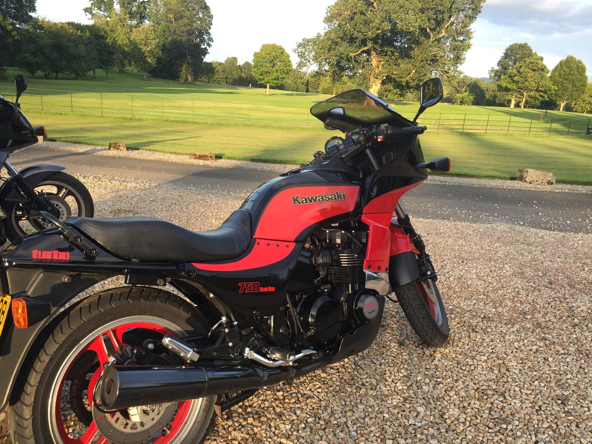1985 GPZ 750 TURBO……..Totally original condition SOLD (picture 4 of 6)