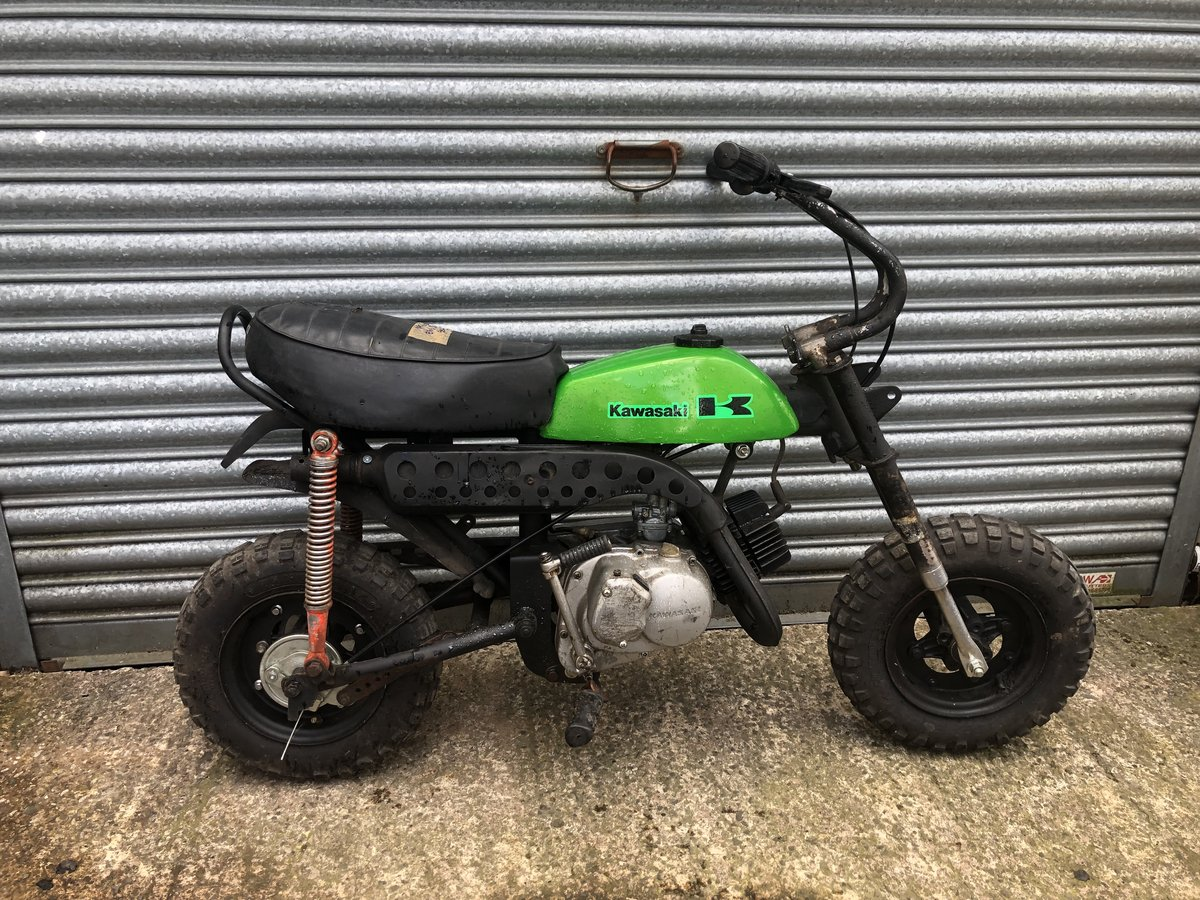 1975 KAWASAKI KV75 KV 75 RUNNING PROJECT £1395 ONO PX Z 900 H1 H2 For Sale (picture 1 of 4)